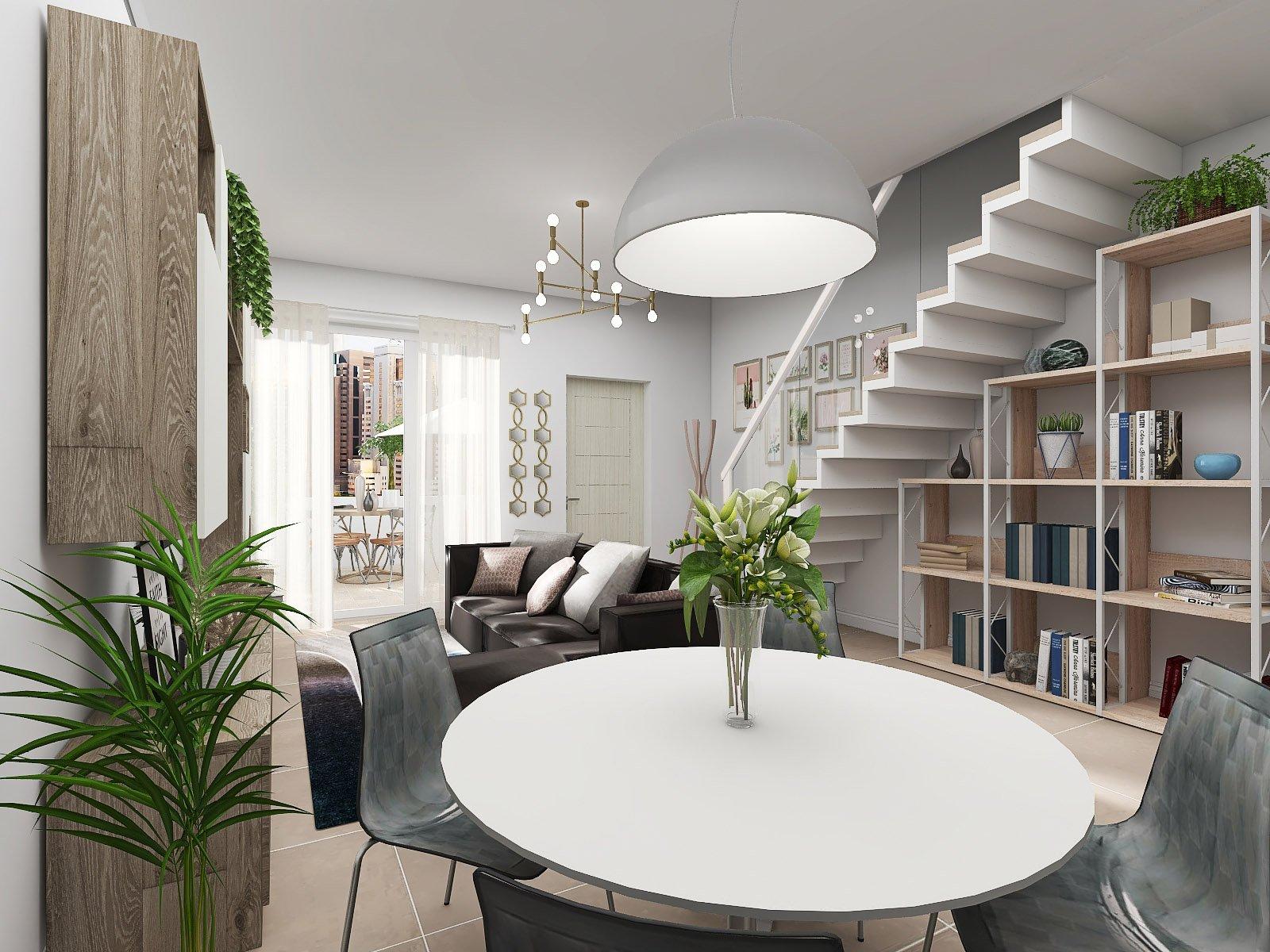 Savignano sul R., Nuovo Appartamento Indipendente su 2 livelli Rif.A067 n.7